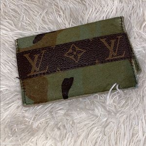 Handbags - Authentic Custom Repurposed LV Card Holder
